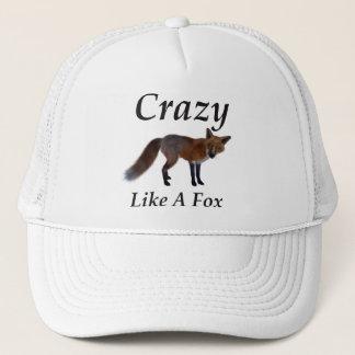 Verrückter Fox Truckerkappe