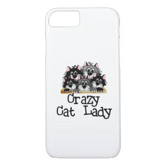 Verrückter Katzen-Dame iPhone 7 Fall iPhone 7 Hülle