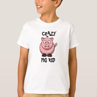 Verrückter Schwein-KinderT - Shirt