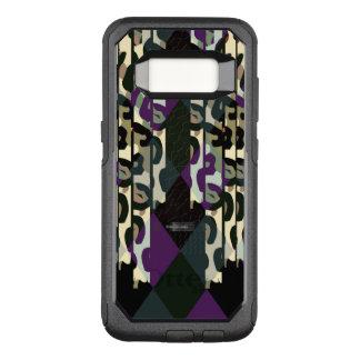 Verrücktes cooles Cheetah-Dreieck-Muster OtterBox Commuter Samsung Galaxy S8 Hülle