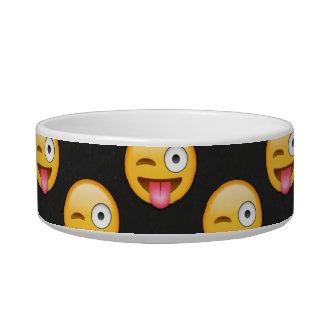 Verrücktes Gesicht Emoji Napf