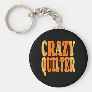 Verrücktes Quilter Schlüsselanhänger