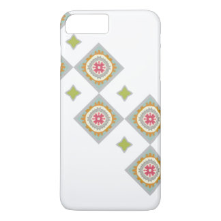 Verschönertes Schachbrett-Muster iPhone 8 Plus/7 Plus Hülle