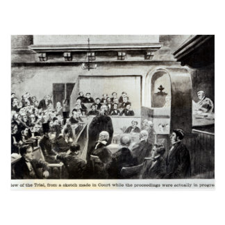 Versuch von Madeleine-Smith, 1857 Postkarte