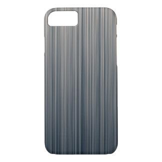 Vertikale Streifen des Schiefers und der Creme iPhone 8/7 Hülle