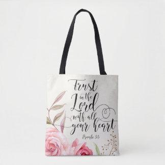 Vertrauen im Lord Tote Bag