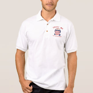 Vertrauen Sie, dass ich ich registriert werde Polo Shirt