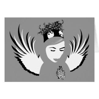 verurteilte Hingabe: verlorener Engel Karte