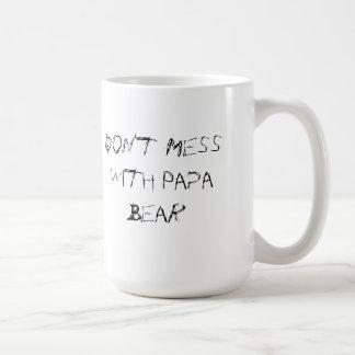 Verwirren Sie nicht mit der Papa-Bärn-Tasse Tasse