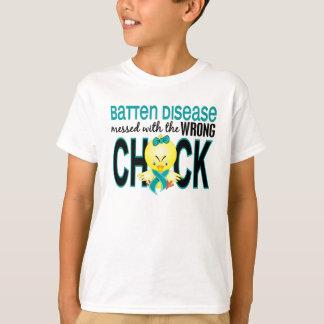 Verwirrt mit falscher Küken-Neuronaler T-Shirt