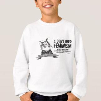 Verwirrte Katzen (für hellfarbige Produkte) Sweatshirt