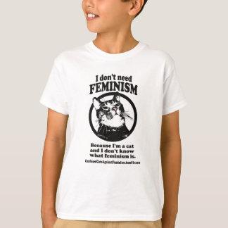 Verwirrte Katzen (Sweetie in einem Kreisentwurf) T-Shirt
