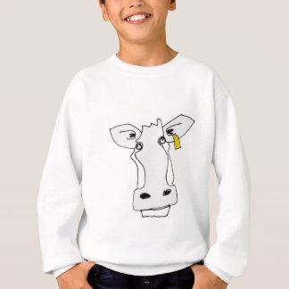 verwirrte Kuh Sweatshirt