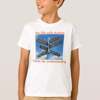 Verwirrtes autistisches T-Shirt