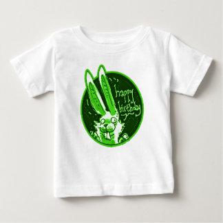 verwirrtes lustiges Kaninchen sagt alles- Gute zum Baby T-shirt