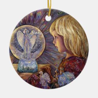 Verzauberte Verzierung des Keramik Ornament