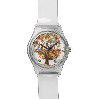 Verzauberte Waldseitenniederlassungs-Hochzeit Uhr