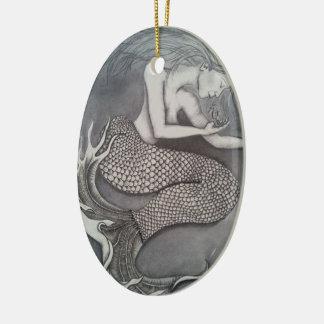 Verzaubertes Meer Keramik Ornament