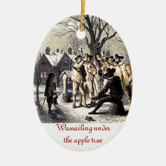Verzierung Apples Wassail Keramik Ornament