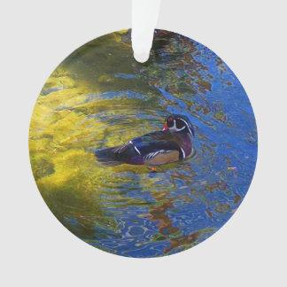Verzierung der hölzernen Enten-#2 Ornament