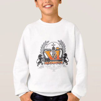 VI enorme Orange Sweatshirt