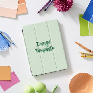 Vibrierende Farbschablone schaffen Ihre Selbst iPad Pro Hülle
