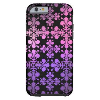 Vibrierende mehrfarbige Lilie Tough iPhone 6 Hülle