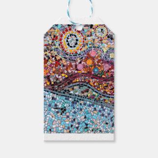 Vibrierende Mosaik-Wand-Kunst Geschenkanhänger
