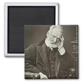 Victor Hugo (1802-85), von 'Galerie Contemporaine Quadratischer Magnet