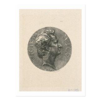 Victor Hugo Postkarte