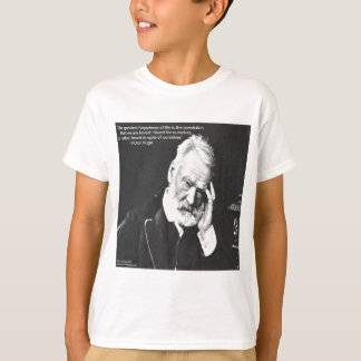 Victor- Hugo u. Glück-Zitat-Geschenk-T-Shirts usw. T-Shirt