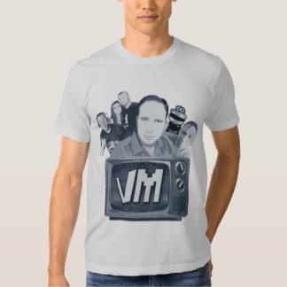 Video beherrscht Typen Fernsehen 4, 1 Mädchen und Shirt