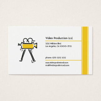 Videoproduktion Visitenkarten