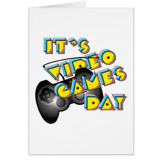 Videospiel-Tag Karte