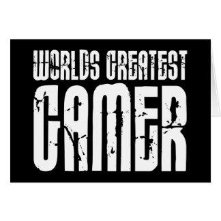 Videospiele Spiel u. Gamersweltbester Gamer Karte