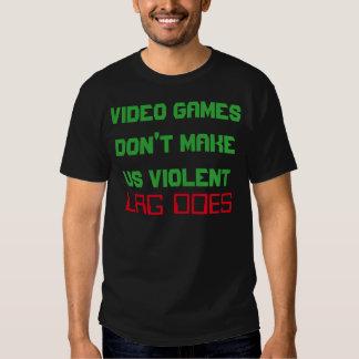 """""""Videospiele stellen uns heftigen"""" T - Shirt nicht"""