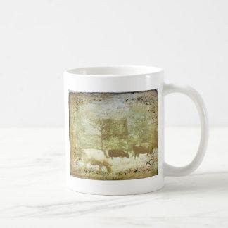 Vieh-Weide 2 Kaffeetasse