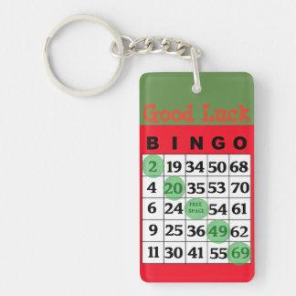 Viel Glück BINGO Charme-Schlüsselkette Schlüsselanhänger
