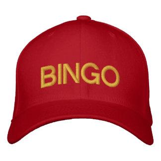 VIEL GLÜCK-BINGO kundengerechte Kappe bei Bestickte Baseballkappen