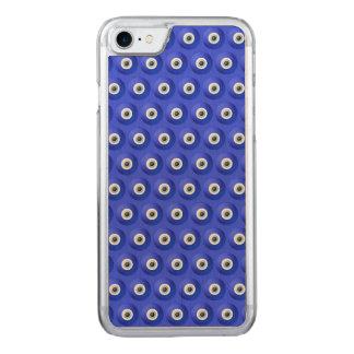 Viel Glück-Charme gegen schlechtes Augendiagramm Carved iPhone 8/7 Hülle
