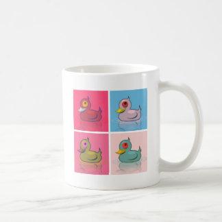 Vier bunte Enten Tasse