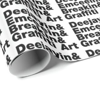 Vier Elemente des angesagten Hopfens Geschenkpapier