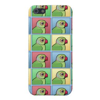 Vier FarbRose-beringter Parakeet Hülle Fürs iPhone 5