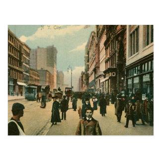 Vierzehntes St., New York City Postkarte