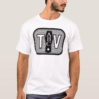 Vierzigerjahre Art Fernsehlogo T-Shirt