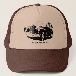 Vierzigerjahre Auto-Hut Truckerkappe