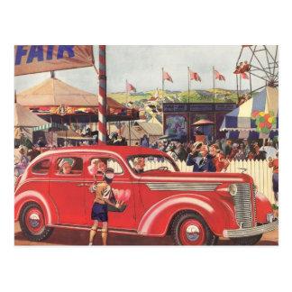 Vierzigerjahre Desoto Postkarte
