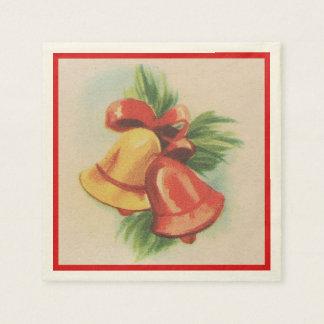 Vierzigerjahre Weihnachten Bell Serviette