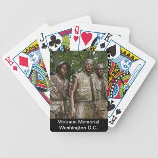 Vietnam-Denkmal Bicycle Spielkarten