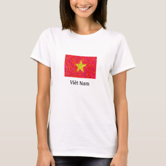 Vietnam-Flagge T-Shirt